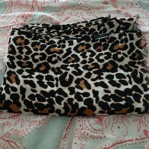 Jcrew leopard print scarf